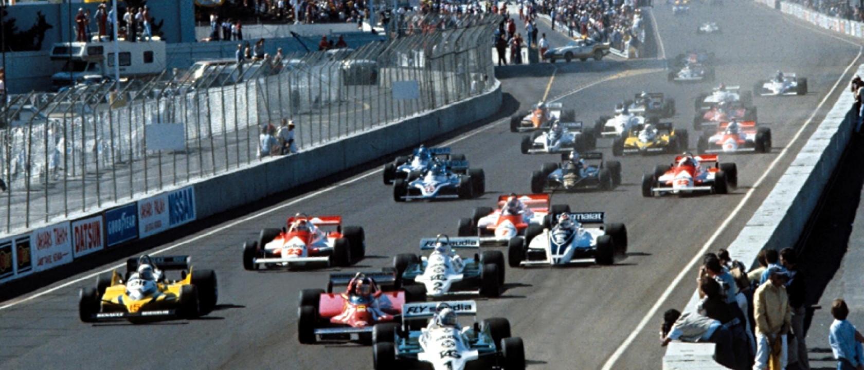 1981 Caesars Palace Grand Prix Formula One Art Genius