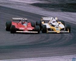 Villeneuve & Arnoux—France 1979
