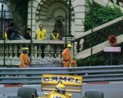 Senna at Monaco