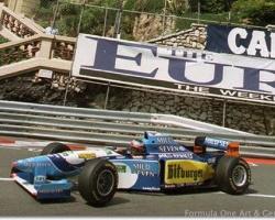 Schumacher—Monaco 1995
