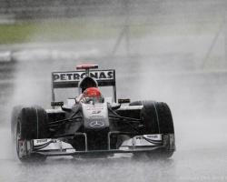 Schumacher—Malaysia 2010