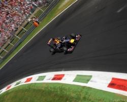 Vettel & Alonso—Monza 2011