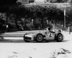 Fangio at Monaco