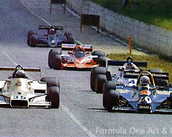 Patrese & Scheckter—Kyalami 1978