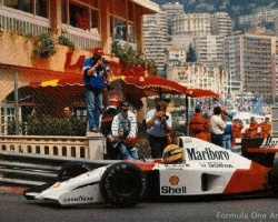 Senna at La Rascasse