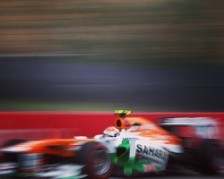 Force India's 100th GP