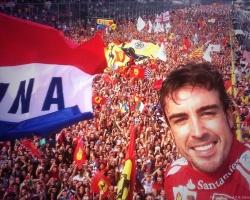 Alonso—Monza 2013 podium