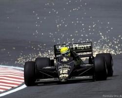 Senna—Lotus 98T3