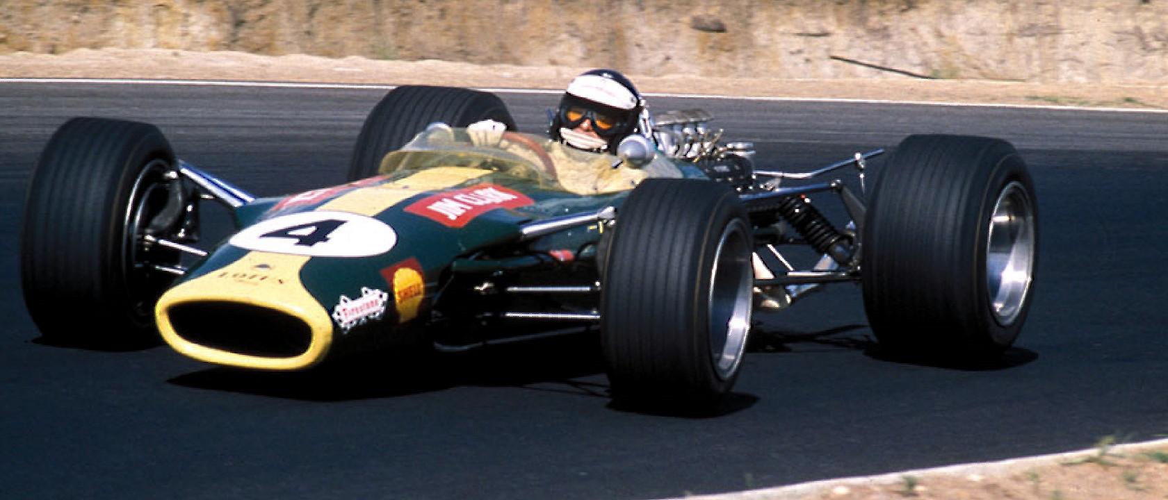 Clark's Last GP Victory | Formula One Art & Genius